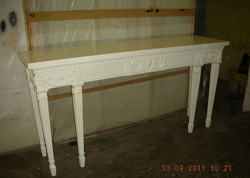 30 CONSOLE TABLE